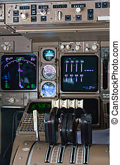 Airplane Cockpit Instruments