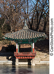 Pagoda in Changdeokgung Palace
