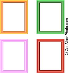 Picture frame vector