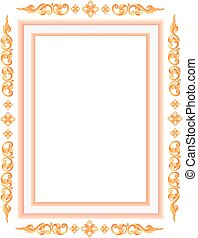 Thai elegant art frame