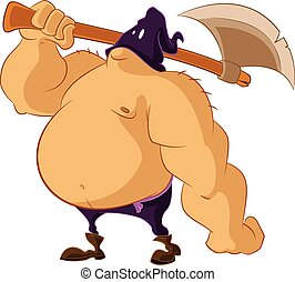 Executioner - Vector image of a big fat Executioner