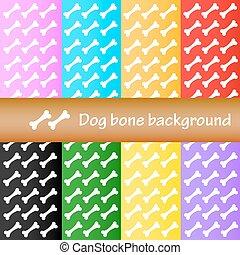 Dog bone background