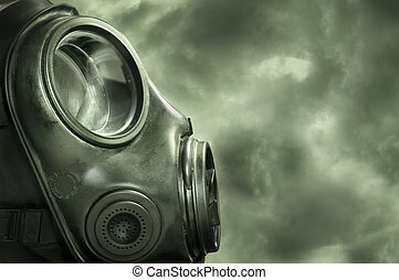 Protection - UK military Anti terrorism gas mask