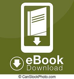 eBook Download Icon - An image of an eBook download icon.