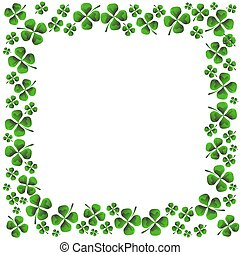 Four Leaf Clover - An image of a four leaf clover pattern
