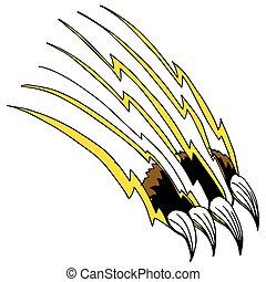 Shredding Claw - An image of a shredding claw.