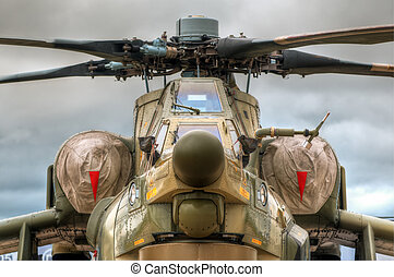 battle chopper - details of the russian military helicopter...