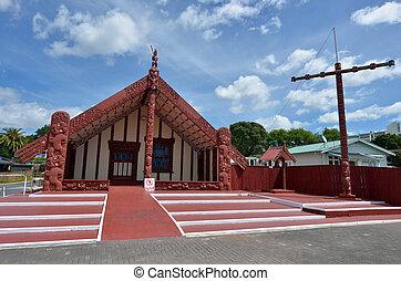 Rotorua - New Zealand - ROTORUA, NZL - JAN 11 2015:Te...