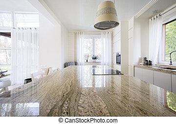 Granite worktop inside apartment - Granite worktop inside...