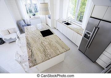 Modern kitchen - Modern and bright kitchen