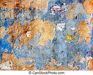 Old colored plaster wall texture Abstract background
