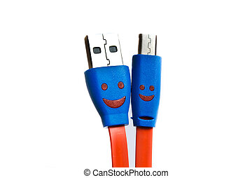USB cable or cord for charging - USB cable or cord for...