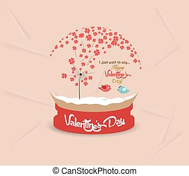 valentines day with romantic