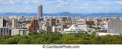 Nagoya city - NAGOYA,JAPAN -SEPTEMBER 13: Nagoya cityscape...