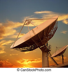 Satellite Dishes - Large and Small Satellite Dishes