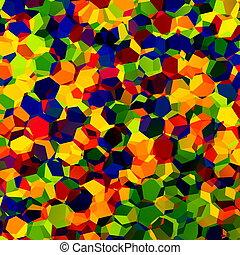 Multicolored RGB Confetti