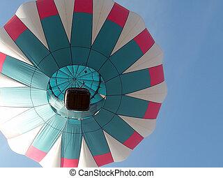 Hot-Air Balloon From Below