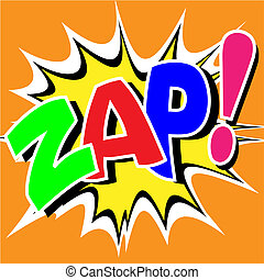 Comic Book Illustration - A Zap Comic Book Illustration