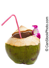 Coconut water drink - coconut water drink, thailand