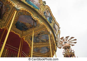 Merry-go-round - DECEMBER, 2014 - BERLIN, GERMANY: Details...