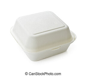 Food container - Isolated image of disposable take out...