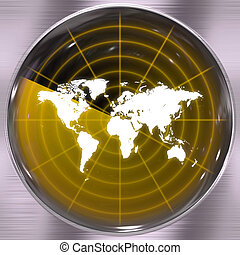 World Radar Screen