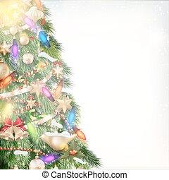 Christmas background EPS 10 - Christmas background of...