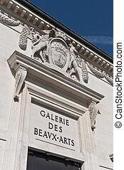 Galerie des Beaux arts at Bordeaux, France - Galerie des...