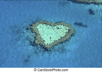 Australia - Heart Ref Whitsunday Islands