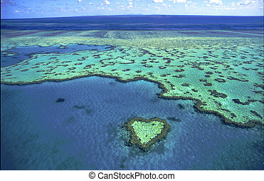 Australia - Heart Reef Whitsundays Island