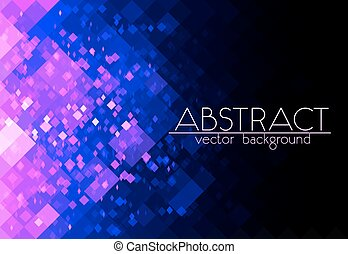 Bright purple grid abstract horizontal background