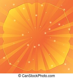 Radial vector background retro