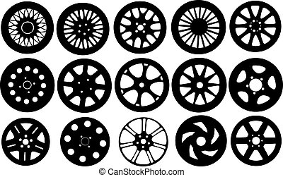 rims - set of different rims