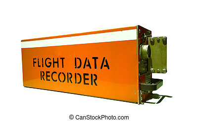flight data recorder - aircraft flight data recorder