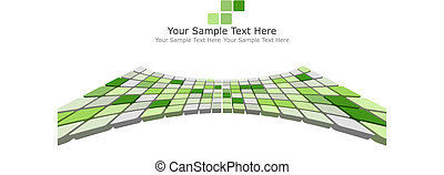 3d checked background - Abstract 3d checked business...