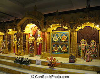 Hindu Temple in New Jersey