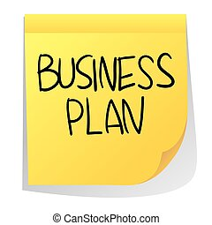 Business Plan - Business concept vector illustration of...