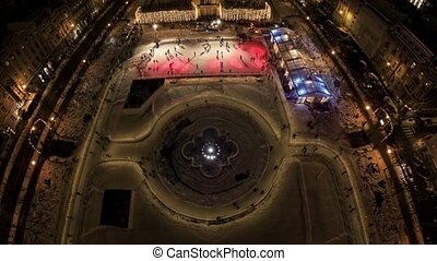 Ice fun in the center of Zagreb - Ice park made for New...