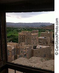Habban Historical City - Yemen - This is a photo for a 1000...