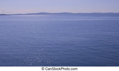 Blue Adriatic sea - Blue nature of the beautiful Adriatic...