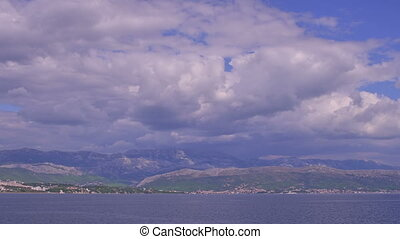 Blue sea and sky - Blue nature of the beautiful Adriatic sea...
