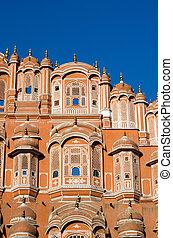Hawa Mahal palace in Jaipur, Rajasthan, India