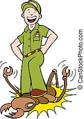 termita, exterminador