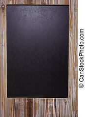 The picture of blank blackboard on - Vintage chalkboard...