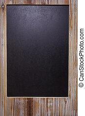 the, 圖片, ......的, 空白, 黑板, 上,