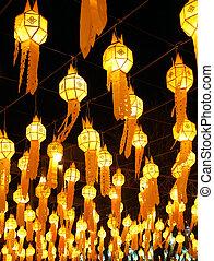 Lanna lantern decoration