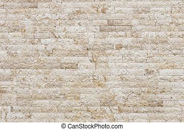 Travertine, piedra, pared, textura, y, Plano de fondo,