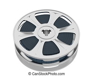 motion picture film reel - Old motion picture film reel