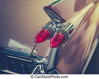 Retro Car Tailfin Detail