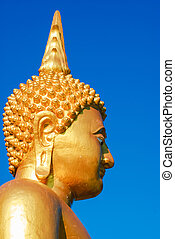 face buddha imange on stockphoto